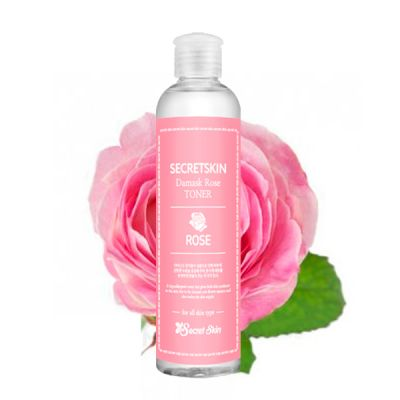 Тонер для лица с экстрактом розы SECRETSKIN DAMASK ROSE TONER 250мл