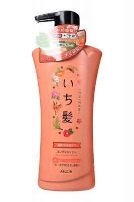 Ichikami Бальзам-ополаскиватель интенсив. увлажн. для поврежд. волос с маслом абрикоса