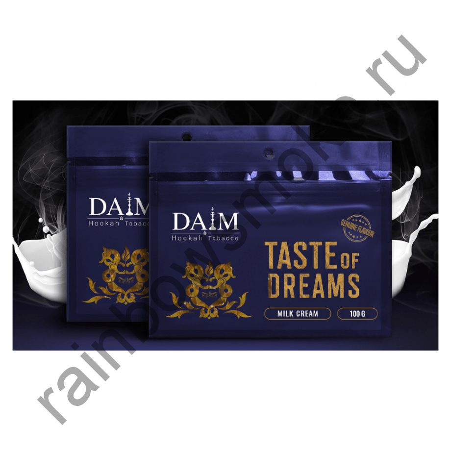 Daim 100 гр - Milk Cream (Молоко и Сливки)