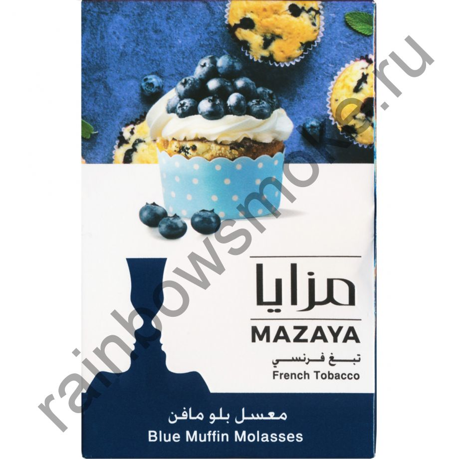 Mazaya 50 гр - Blue Muffin (Черничный маффин)