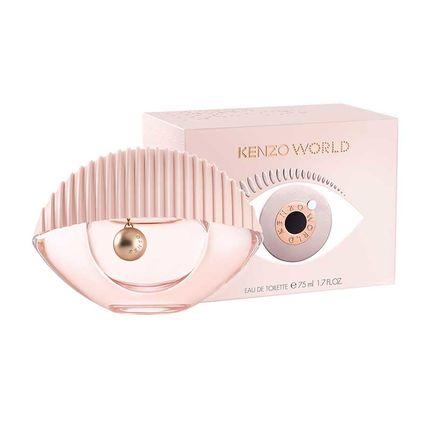 Туалетная вода KENZO WORLD 75ml (розовая)