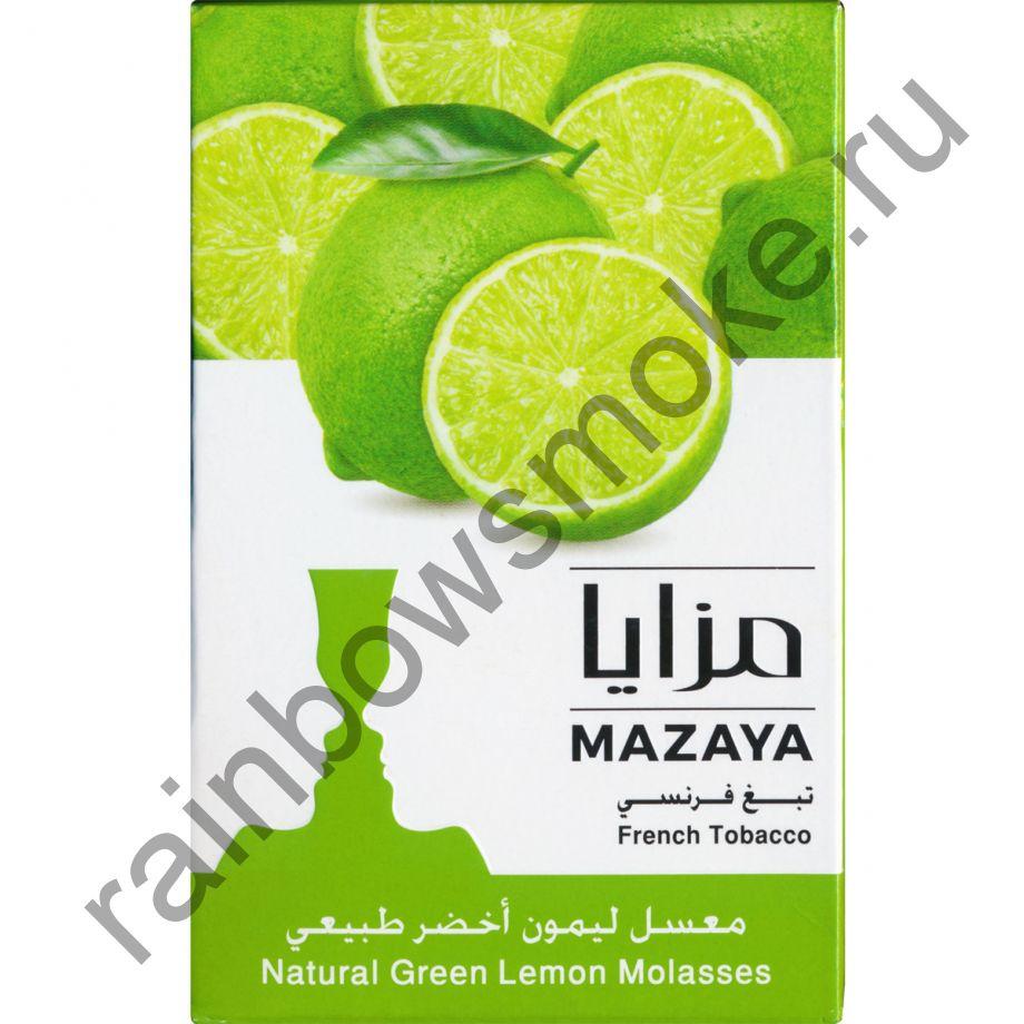 Mazaya 50 гр - Green Lemon (Зелёный Лимон)