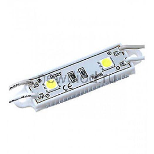 Светодиодный модуль SMD 5050/2LED 45*12*6 мм 0,63W IP65 RGB