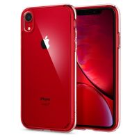 Купить чехол Spigen Ultra Hybrid для iPhone XR кристально-прозрачный