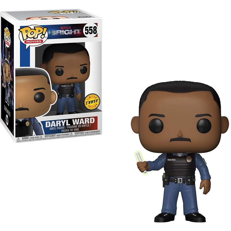 Фигурка Funko POP! Vinyl: Bright S1: Daryl Ward w/ Chase 27377