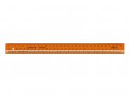 Линейка закройщика 30 см, пластмасс. (арт. ЛН72)