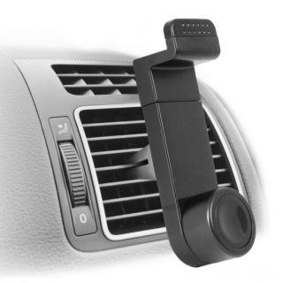 Держатель телефона в авто на воздуховод, Цвет: Черный