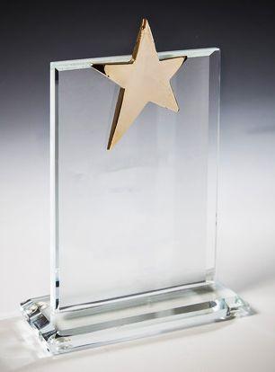 Стеклянные награды к 23 февраля