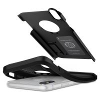 Оригинальный чехол SGP Spigen Tough Armor для iPhone XS Max чёрный