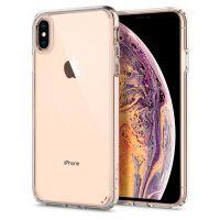 Чехол Spigen Ultra Hybrid для iPhone XS Max кристально-прозрачный
