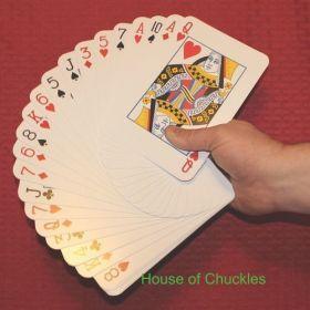 Jumbo Mirage Magic Card Trick Bicycle Deck