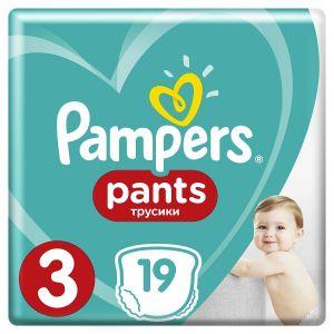 Pampers Tuman Kiçik Premium Care Pants 6-11kg. N3  19ədəd