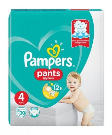 Трусики Pampers Premium Care Pants 9-15кг 4 размер 30шт