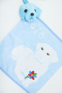 Полотенце детское хлопковое с рисунком (35*35) арт.    203520