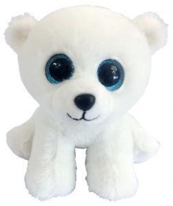 Медвежонок полярный белый (15 см)