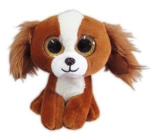 Собачка коричневая (15 см)