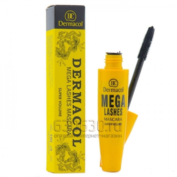 "Тушь для ресниц Dermacol ""Mega Lashes Mascara Yellow"""