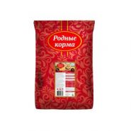 РОДНЫЕ КОРМА сухой корм для взрослых кошек ТЕЛЯТИНА (2,045 кг)