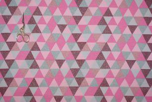 Треугольники Глиттер футер 2-х нитка