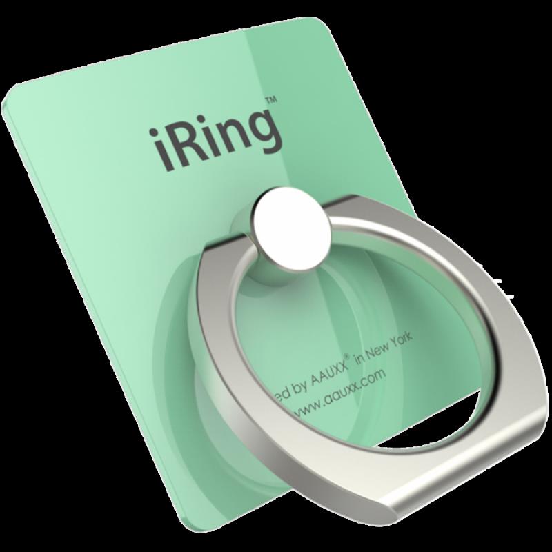 Универсальный держатель для смартфона iRING, бирюзовый