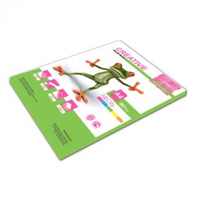 """Бумага """"Creative color"""", А4, 80 г/м, 50 л. неоново-салатовая (арт. БНpr-50с, ш/к 44882/110516)"""