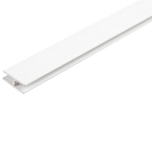 Соединитель для задней стенки ДВП L-2000 мм, белый