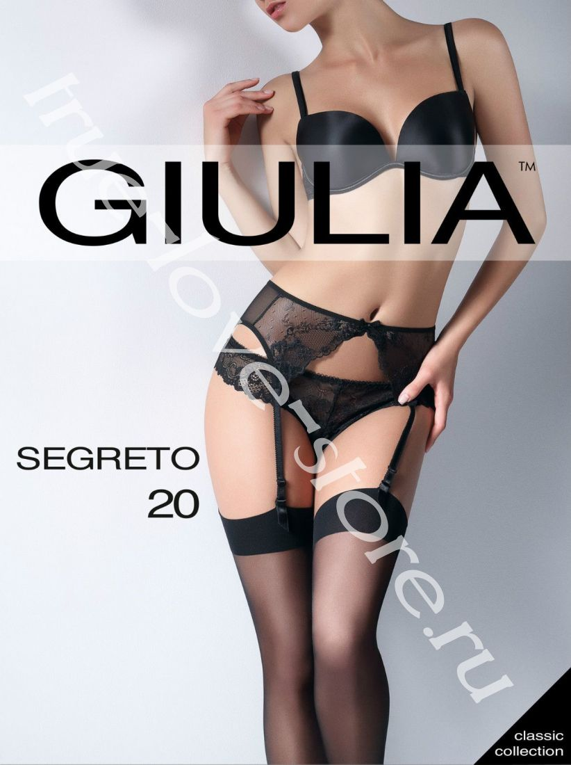 23825 - цена за 2 шт, Чулки Giulia