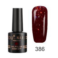 Гель-лак №386 Ou Nail, 8 мл