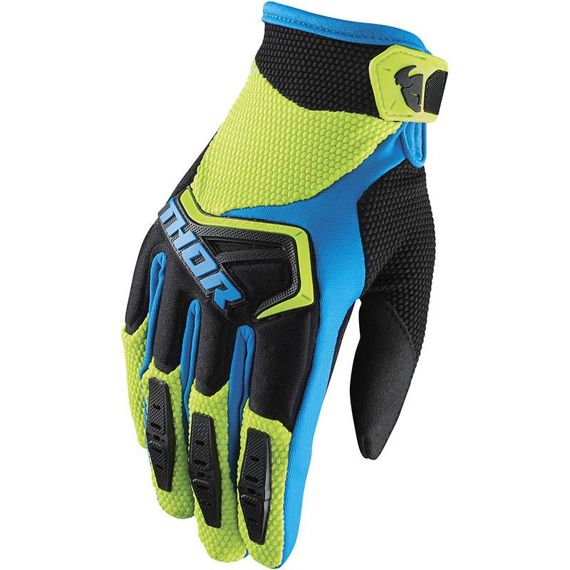 Thor - Spectrum Green/Black перчатки, зелено-черные