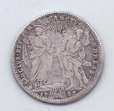 тестон 1785 года XF Ватикан Италия