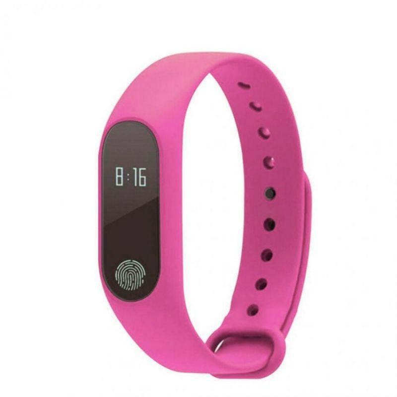 Фитнес Браслет Intelligence Health Bracelet M2, Розовый