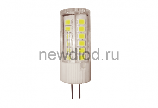Лампа светодиодная LED-JC-VC 3Вт 12В G4 3000К 270Лм IN HOME