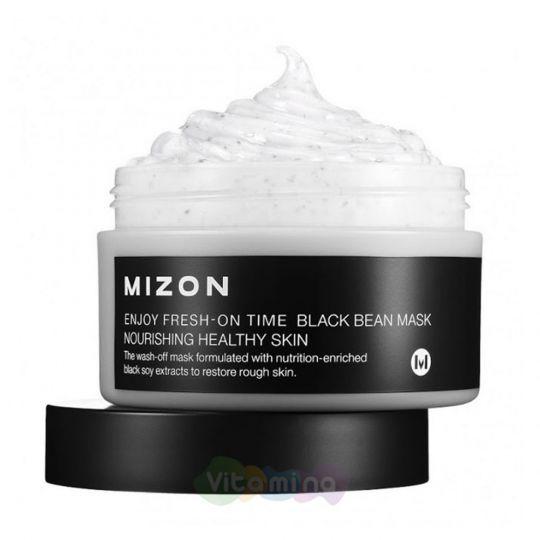 Mizon Антивозрастная маска с черными соевыми бобами Enjoy Fresh On-Time Black Bean Mask