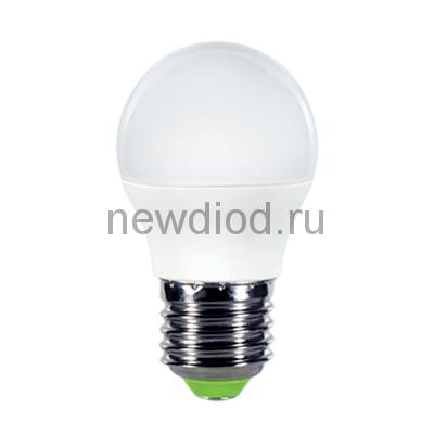 Лампа светодиодная LED-ШАР-VC 8Вт 230В Е27 3000К 600Лм IN HOME