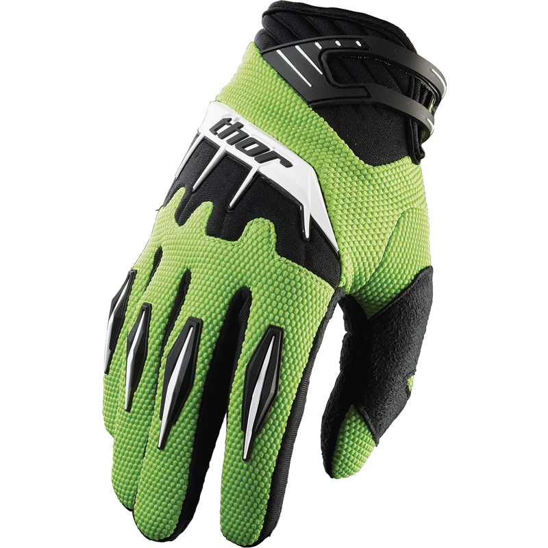 Thor - Spectrum Green перчатки, зеленые