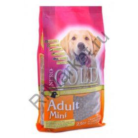 Корм для взрослых собак малых пород