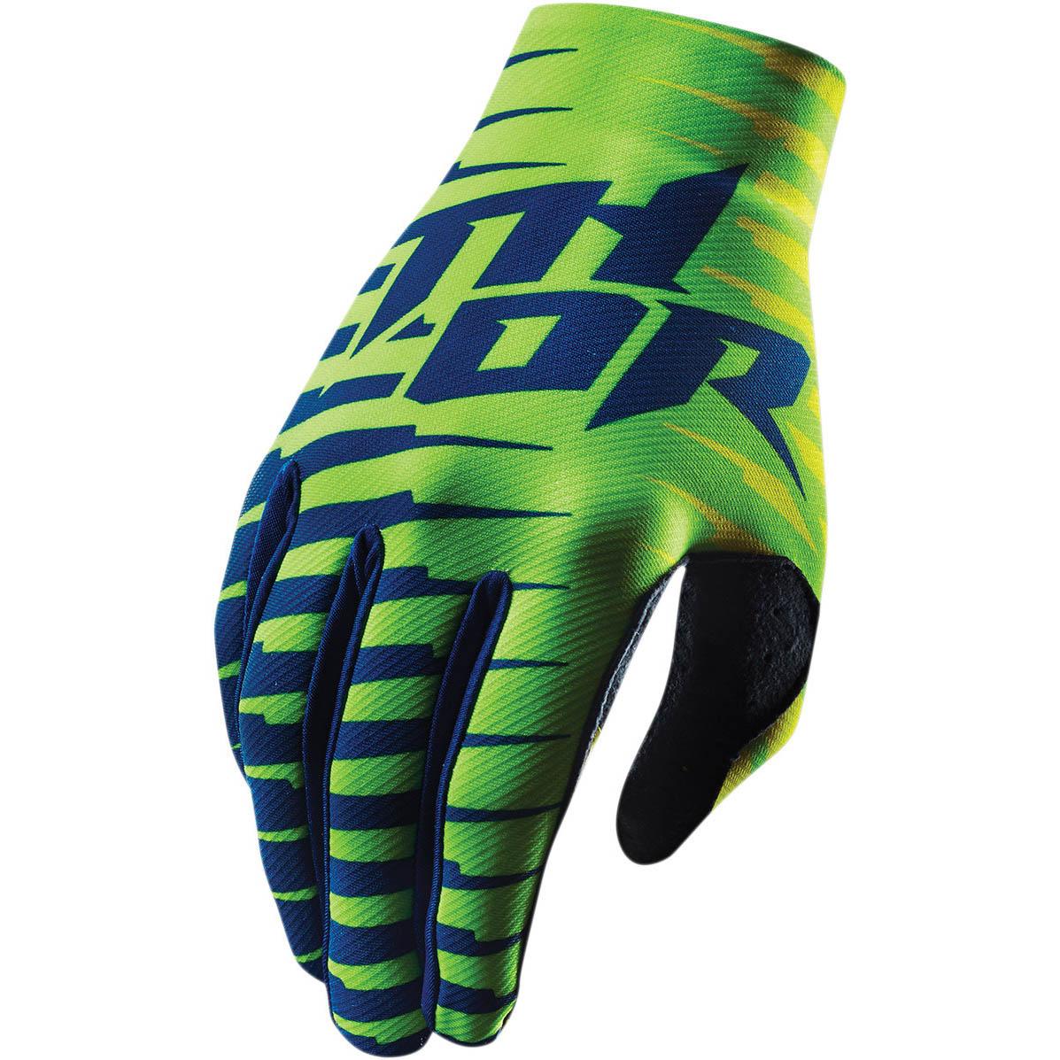 Thor - Void Plus Rift Lime перчатки, зеленые