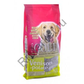 Корм для взрослых собак c олениной и сладким картофелем