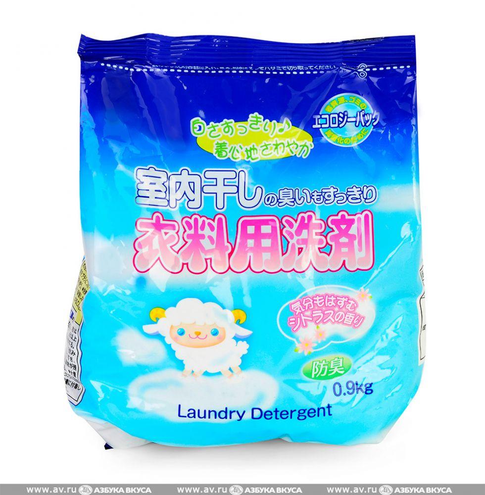 Японский стиральный порошок (для сушки в помещении) Rocket Soap, 800г