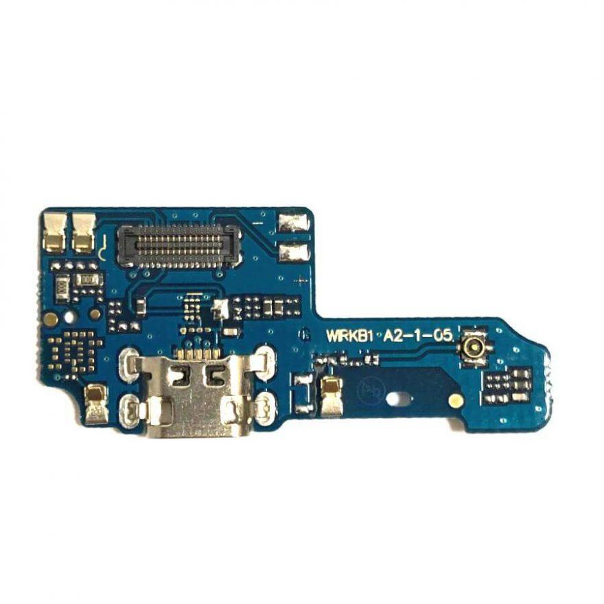Нижняя плата с разъемом зарядки и микрофоном для для Asus Zenfone Max Plus (M1, ZB570TL)