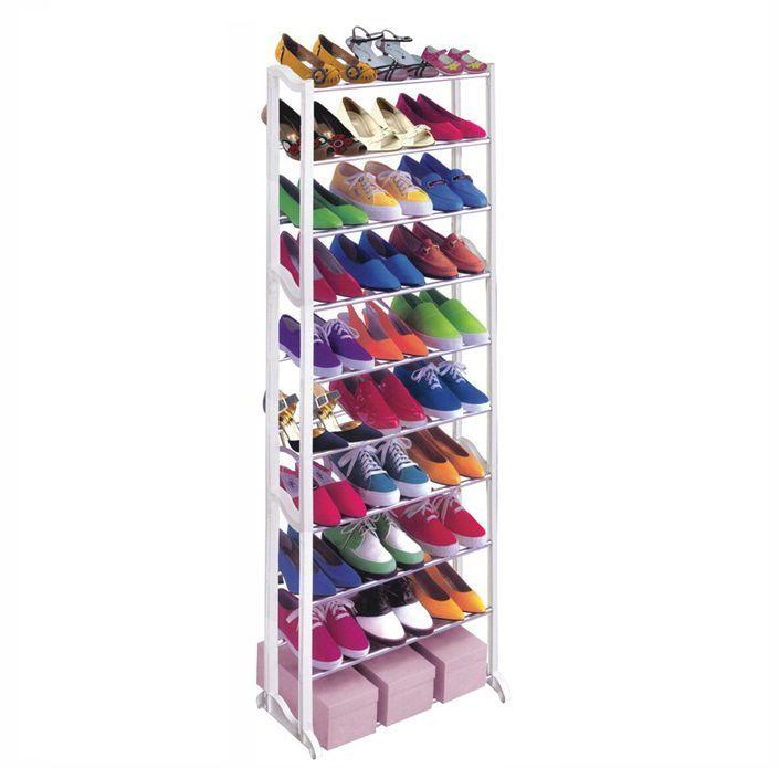 Стойка Для Обуви Amazing Shoe Rack, Цвет Белый