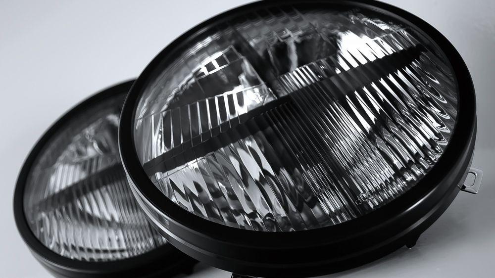 Головной свет с накладками CROSSHAIR (Land Rover Defender)
