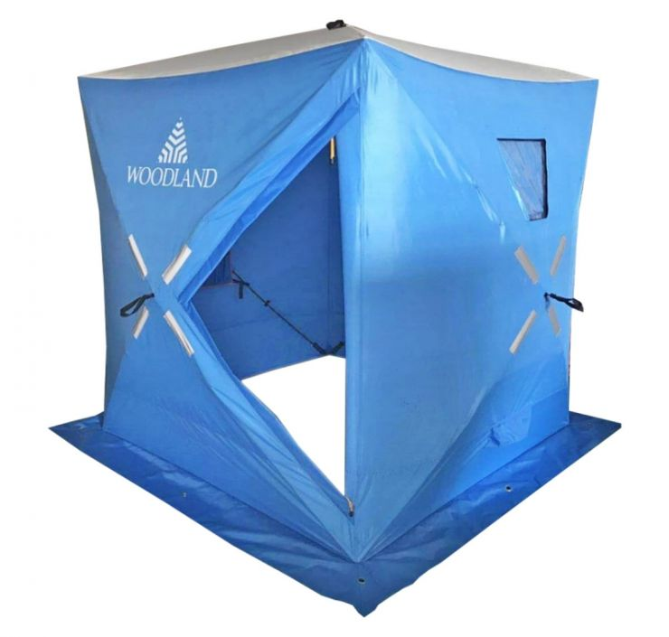 Палатка   зимняя WoodLand ICE FISH 2 NEW Синяя