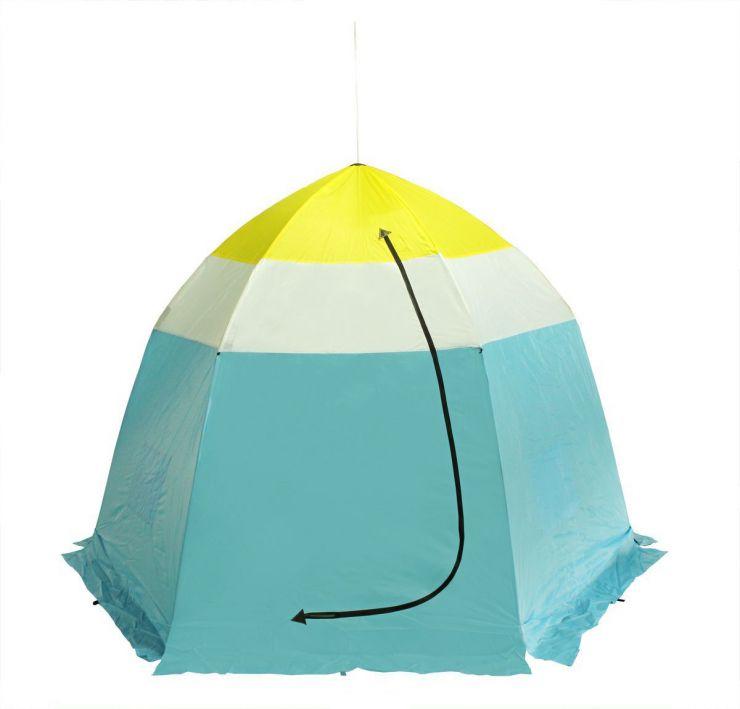 Палатка   зимняя Стэк  4-х мест н/тк 260*260*210