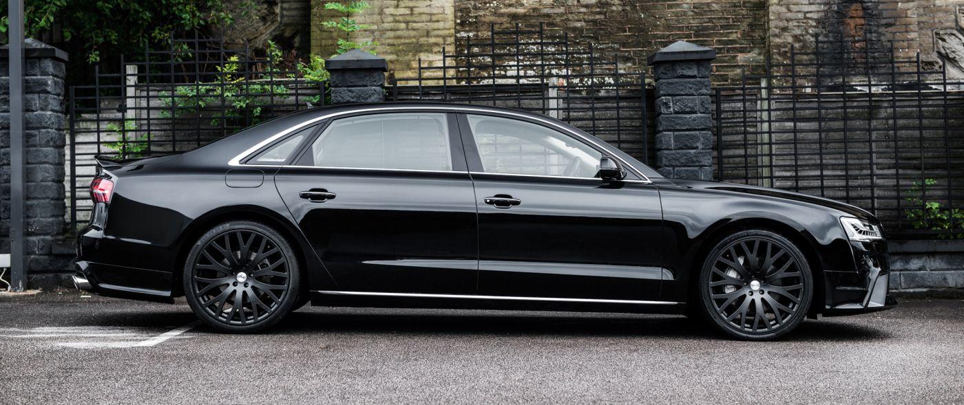 Боковые пороги (Audi A8)