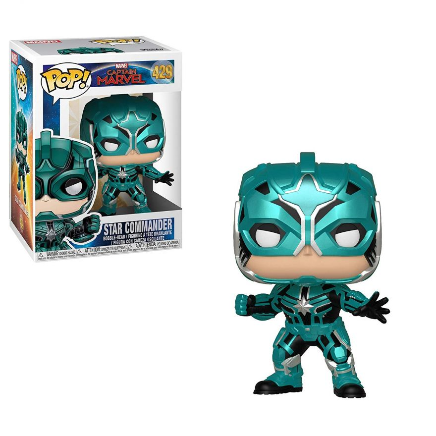 Фигурка Funko POP! Bobble: Marvel: Captain Marvel: Star Commander 36352
