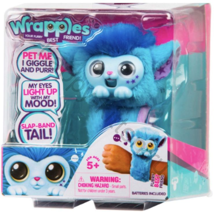 Little Live Wrapples цвет голубой