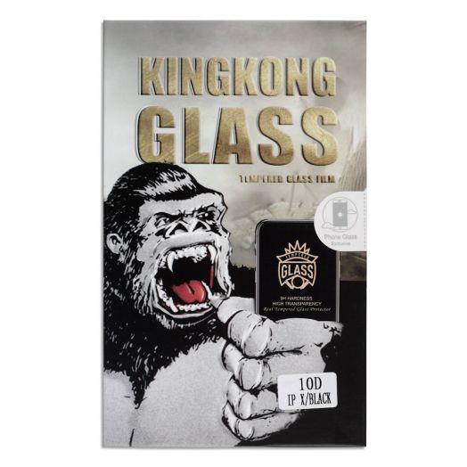Защитное стекло King Kong iPhone X черный