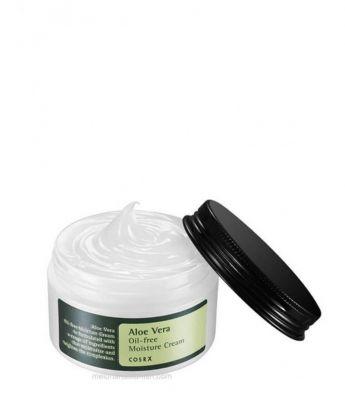 АКЦИЯ! [COSRX] Крем для лица увлажняющий Aloe Vera Oil-free Moisture Cream 100гр