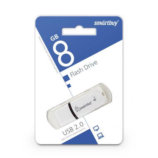 USB накопитель Smartbuy 8GB Paean White